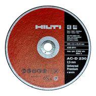 Круг отрезной по металлу HILTI 125х1,0 мм