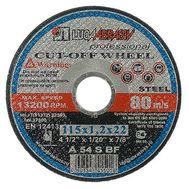 Круг отрезной Луга по металлу 115х1,2 мм