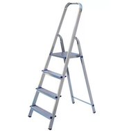 Лестница стремянка алюминиевая Россия 6 ступеней