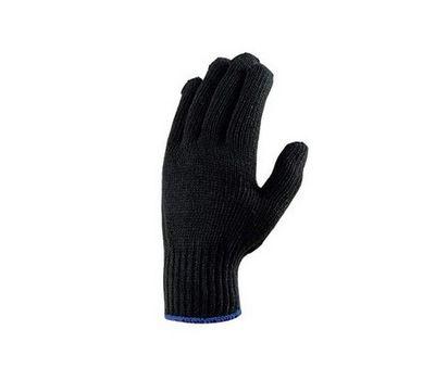Перчатки х/б черн. тепл.
