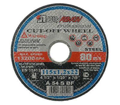 Круг отрезной Луга  по металлу 115х2,5 мм