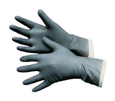 Перчатки резиновые кислотнощелочные